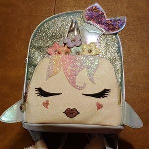 NWT Mermaid/unicorn mini bookbag